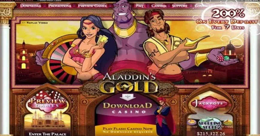 Aladdins Gold No Deposit Bonus Codes 2021